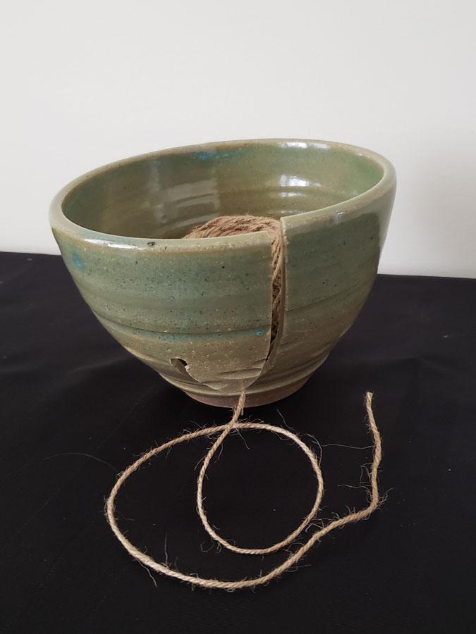 Yarn/Knitting Bowl by Potter Paul Johnson